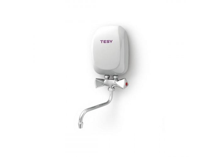 Водонагреватель проточный TESY IWH 35 X01 KI (кран)
