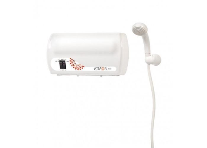 Электрический проточный водонагреватель Atmor Basic 5,0 кВт (Душ)