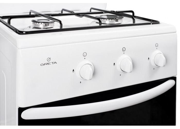 Газовая плита GRETA 1201-10 белая