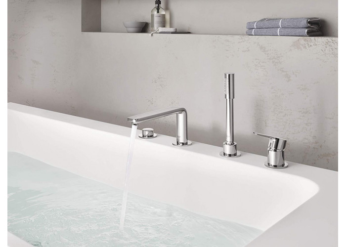 Grohe Lineare Смеситель однорычажный для ванны на 4 отверстия (19577001)