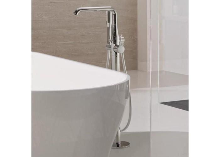Grohe Essence Смеситель однорычажный для ванны, напольный монтаж (23491001)