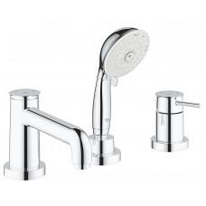 Grohe BauClassic Комплект для ванны на 3 отверстия (2511800A)