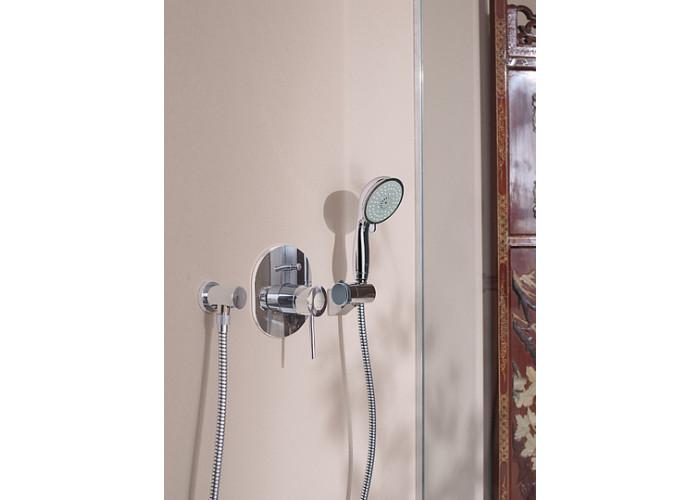Grohe BauClassic Смеситель однорычажный для ванны, скрытый монтаж (29047000)