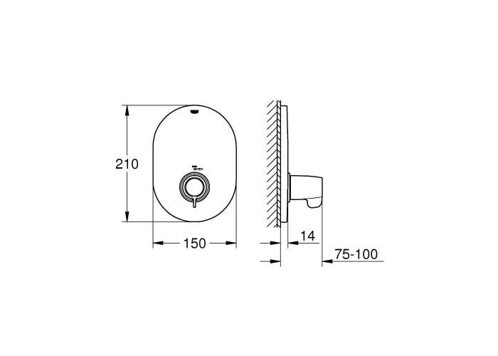 Grohe Grohtherm Special Центральный термостат (29096000)