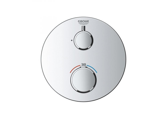 Grohe Grohtherm Термостат для душа с переключателем на 2 положения верхний/ручной душ (24076000)