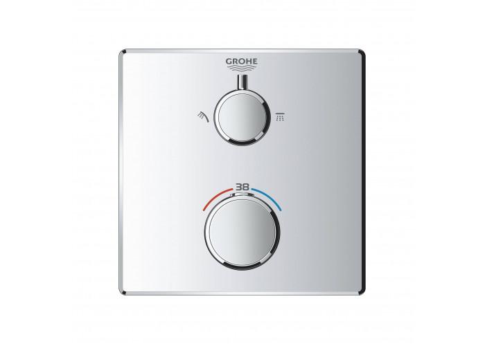 Grohe Grohtherm Термостат для душа с переключателем на 2 положения верхний/ручной душ (24079000)