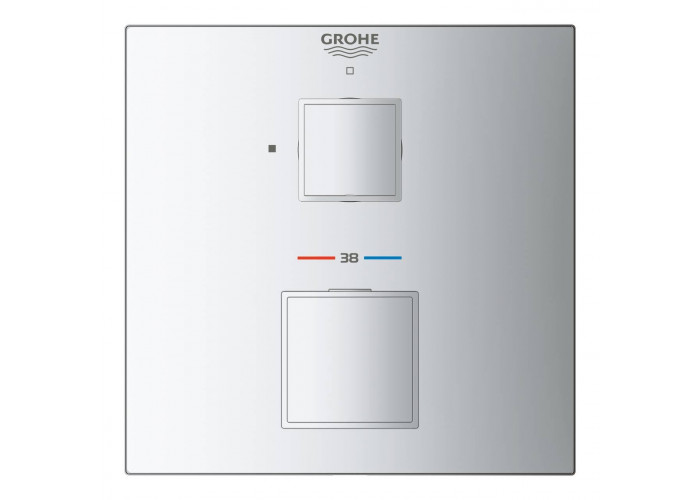 Grohe Grohtherm Cube Термостат для душа с переключателем на 1 положение (24153000)