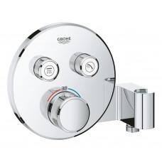 Grohe Grohtherm SmartControl Термостат для встраиваемого монтажа с двумя кнопками управления (29120000)