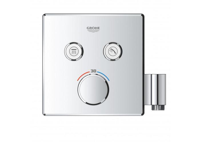 Grohe Grohtherm SmartControl Термостат для встраиваемого монтажа с двумя кнопками управления (29125000)