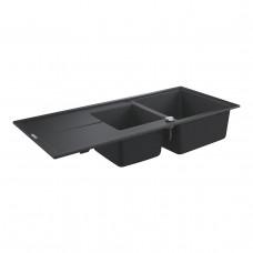 Grohe Мойка для кухни 1160 х 500 мм, Granite Black (31643AP0)