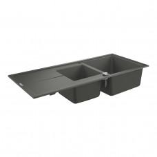 Grohe Мойка для кухни 1160 х 500 мм, Granite Grey (31643AT0)