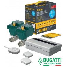 Система защиты от потопа СКПВ Neptun Bugatti ProW+ 3/4 2014 (беспроводная)