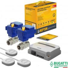Система защиты от потопа СКПВ Neptun Bugatti Base 220B 1/2 (проводная)