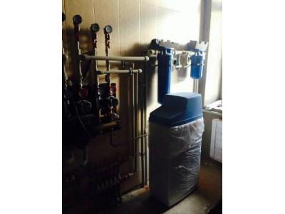 Система водоподготовки для умягчения воды