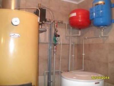 Параллельное подключение газового котла и котла длительного горения