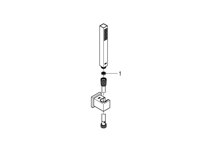 Grohe Euphoria Cube Stick Душевой набор, 1 режимом струи (27703000)
