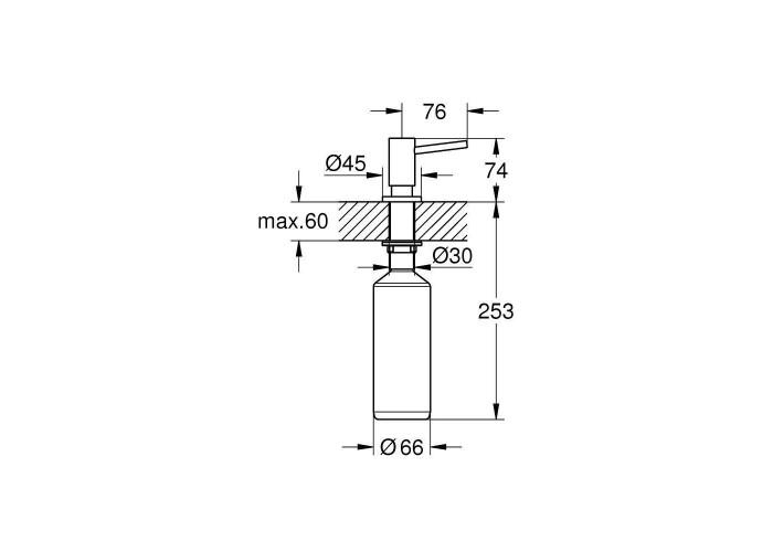 Grohe Cosmopolitan Дозатор жидкого мыла (40535DC0)