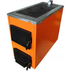 Твердотопливный котел ТермоБар АКТВ -20 с плитой (2 комфорки)