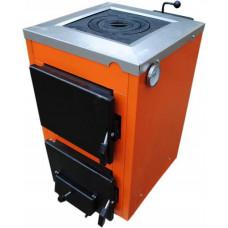 Твердотопливный котел ТермоБар АКТВ -16 с плитой (1 комфорка)