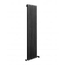 Радиатор стальной трубчатый Betatherm Elipse 1 1800x445 RAL9005M