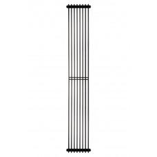 Радиатор стальной трубчатый Betatherm Metrum BM6 2180-30 1800x255 RAL9005M