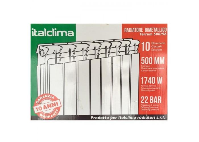 Биметаллический радиатор Italclima Ferrum 350/96