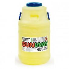 Теплоноситель для защиты автономных систем отопления от коррозии и замерзания SUNWAY 40 л