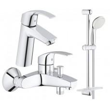 Grohe Eurosmart набор для ванны 3 в 1 (123246M)