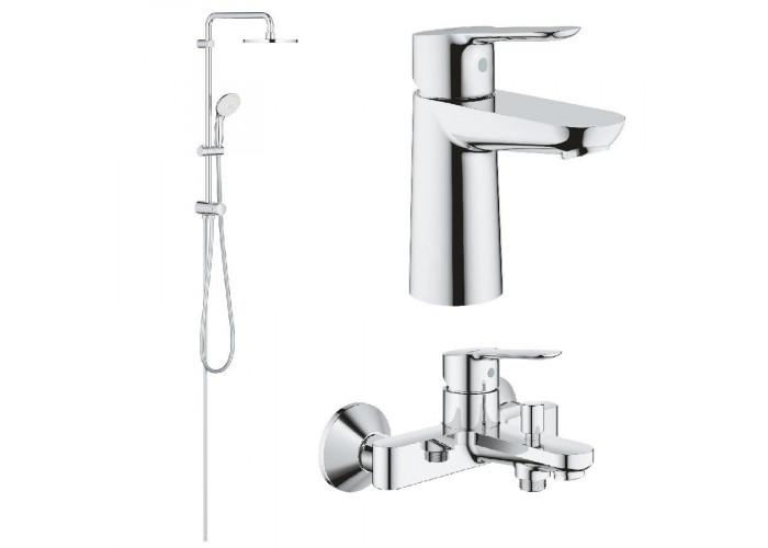 Grohe BauEdge набор для ванны 3 в 1 (12336TS)
