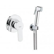 Grohe Набор 4 в 1 для туалета (гигиенический душ, смеситель скрытого монтажа, держатель, шланг) (28512001)