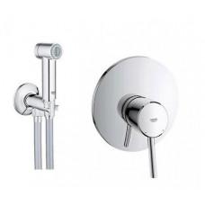Grohe Набор 2 в 1 для туалета (к-т гигиенического душа, смеситель скрыт. монтажа) (26332007)