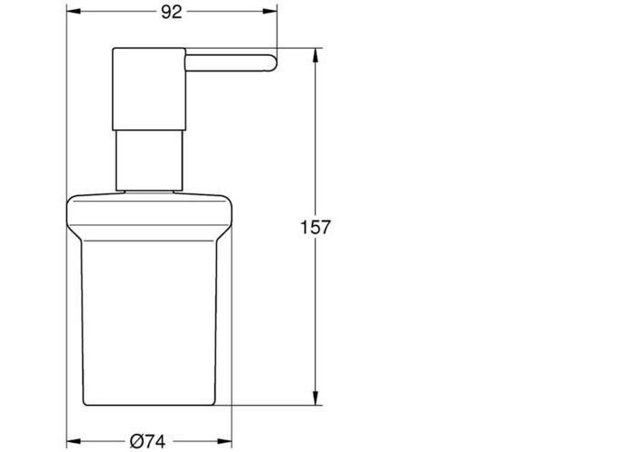 Grohe Essentials Дозатор жидкого мыла (40394001)
