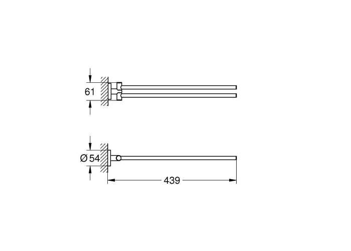 Grohe Essentials Полотенцедержатель (40371DL1)