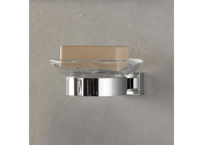 Grohe Essentials Cube Мыльница настенная с держателем (40754001)