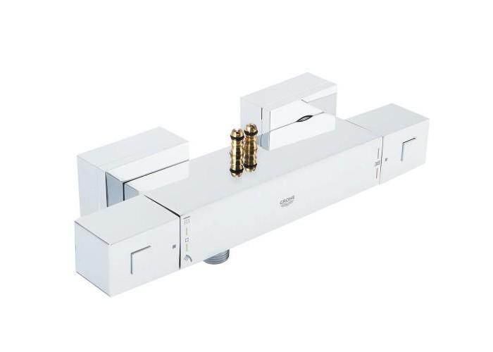 Grohe Euphoria Cube System 230 Душевая система с термостатом для настенного монтажа (26087000)
