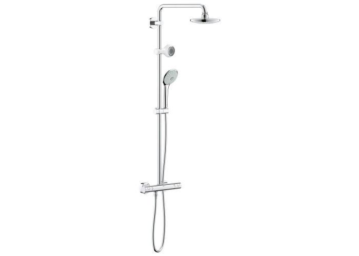 Grohe Euphoria System 180 Душевая система с термостатом для настенного монтажа + Aquatunes (26273000)