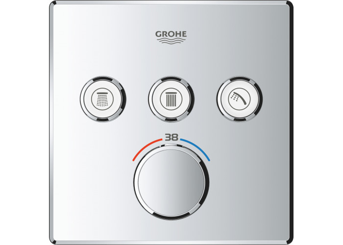 Grohe Grohtherm SmartControl душевая система Rainshower 310 SmartActive Cube (34706000)