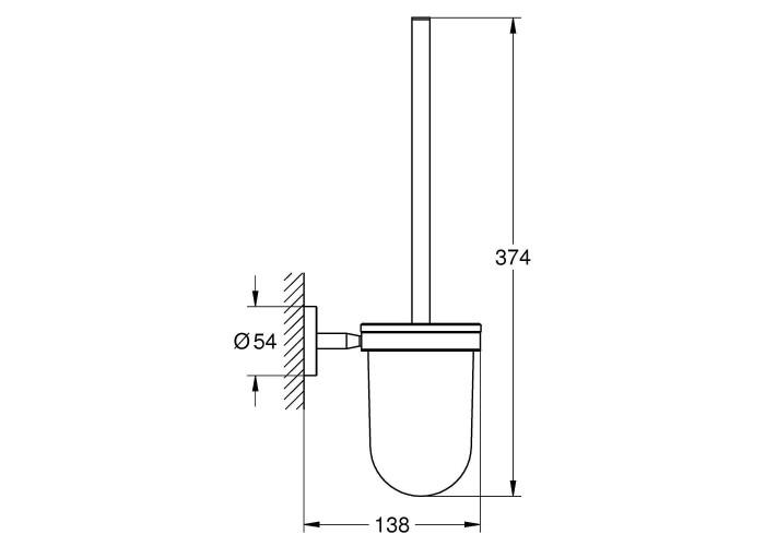 Grohe BauCosmopolitan Туалетный ёршик (40463001)